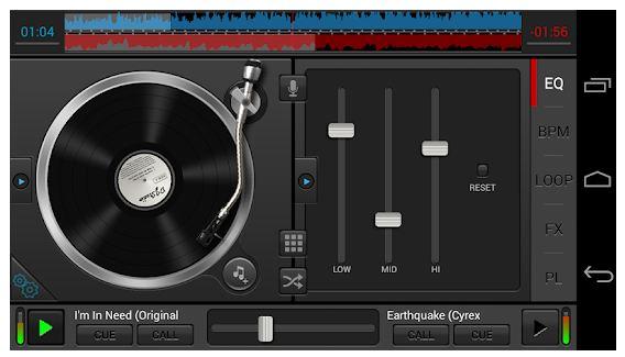 DJ Studio 5 App Features