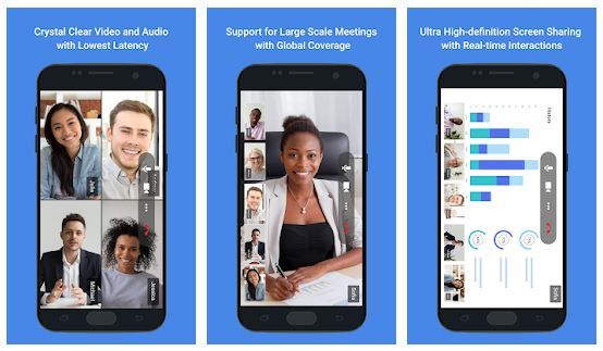 TeamLink Video Conference App Features