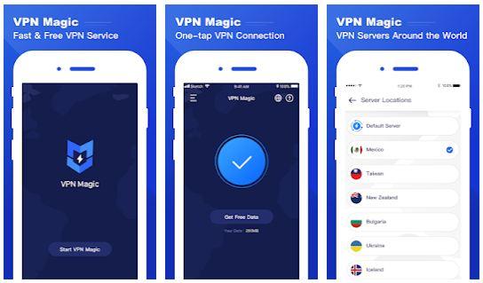 VPN Magic App Features