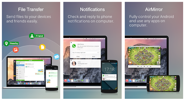AirDroid App Features
