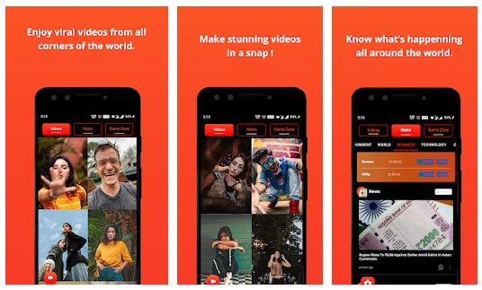Chingari App Features