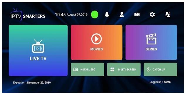 IPTV Smarters Pro App Features
