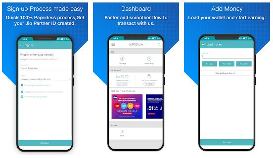 JioPOS Lite App Features