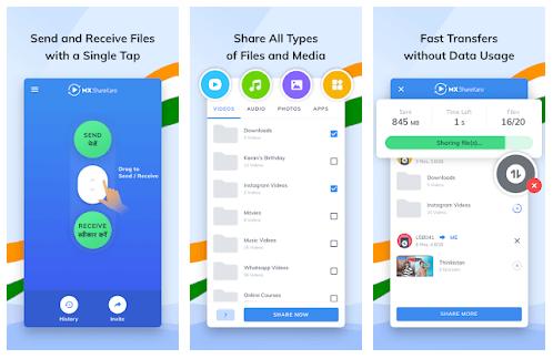 MX ShareKaro App Features
