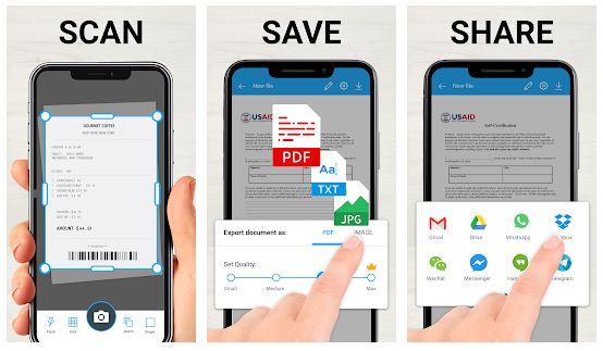 TapScanner App Features