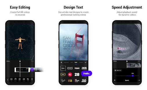 VITA Video Editor App Features