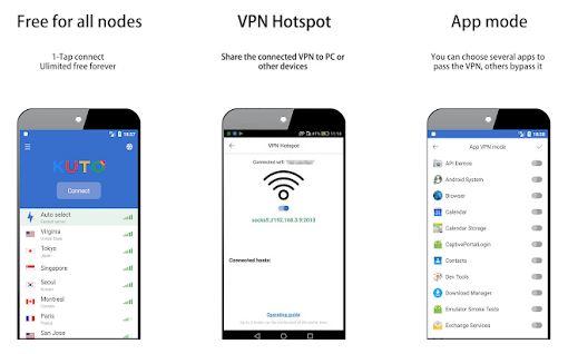 KUTO VPN App Features