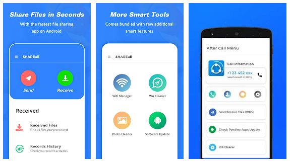 SHAREall App Features