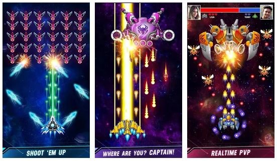 Space Shooter Game App