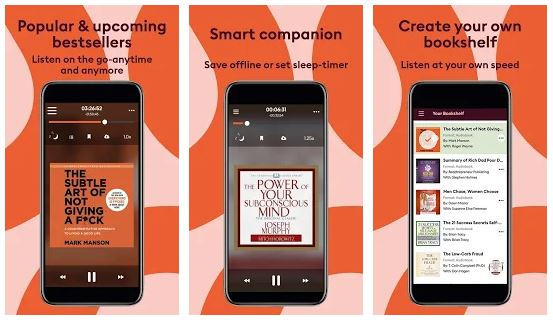 Storytel App Features