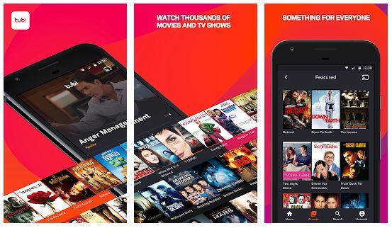 Tubi TV App Features