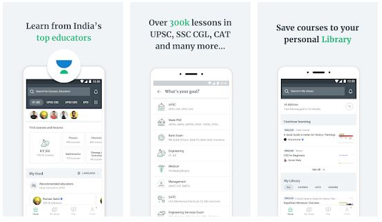Unacademy Learning App Features