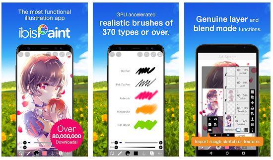 ibis Paint X App Features
