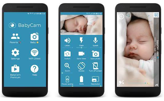 BabyCam App Features