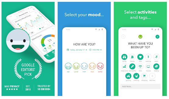 Daylio App Features