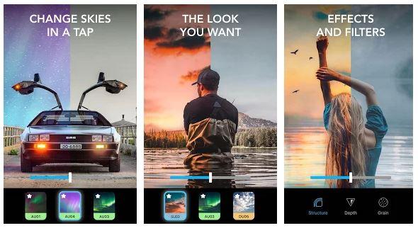 Enlight Quickshot App Features