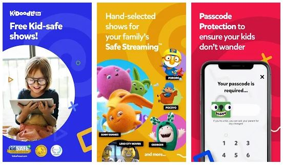 Kidoodle TV App Features