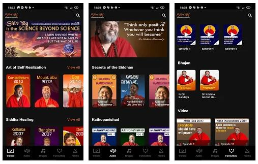 ShivYog Play App Features