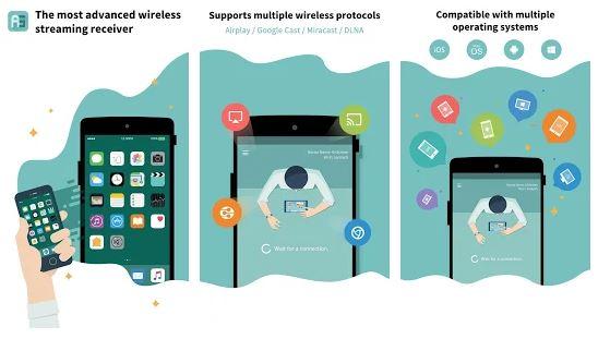 AirScreen App Features