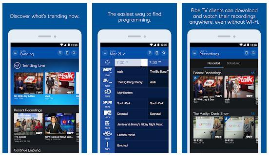 Bell Fibe TV App Features