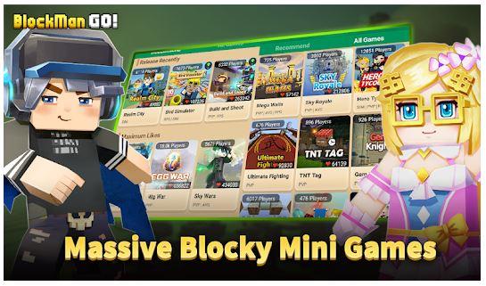 Blockman Go App Features