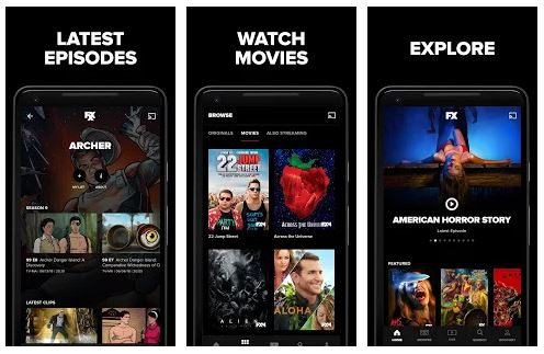 FXNOW App Features