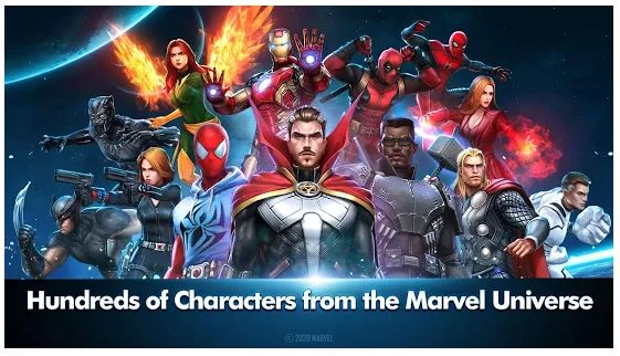 MARVEL Future Fight Game Features