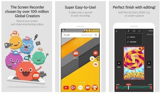 Mobizen Screen Recorder App Features