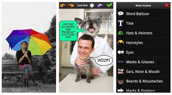 PicSay Pro App Features