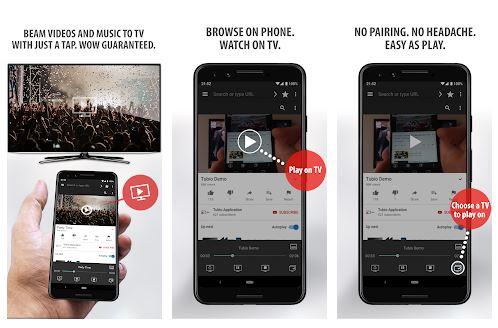 Tubio App Features