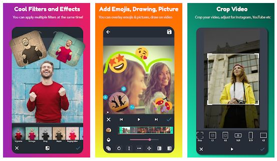 AndroVid App Features
