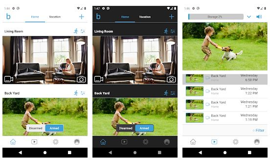 Blink Home Monitor App Features