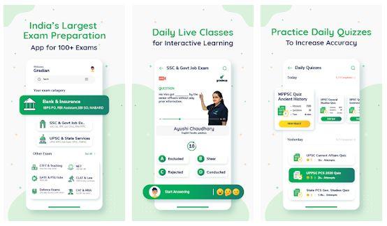Gradeup App Features