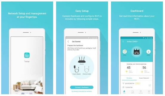 TP-Link Tether App Features