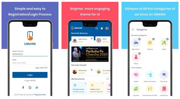 UMANG App Features
