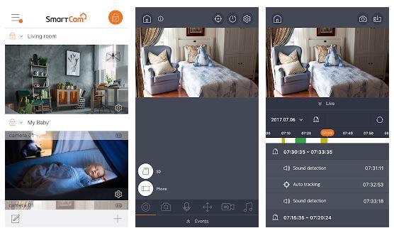 Wisenet SmartCam App Features