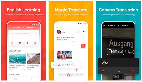 U-Dictionary App Features