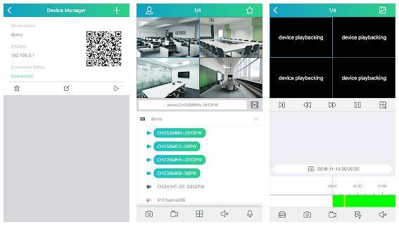 RXCamView App Features